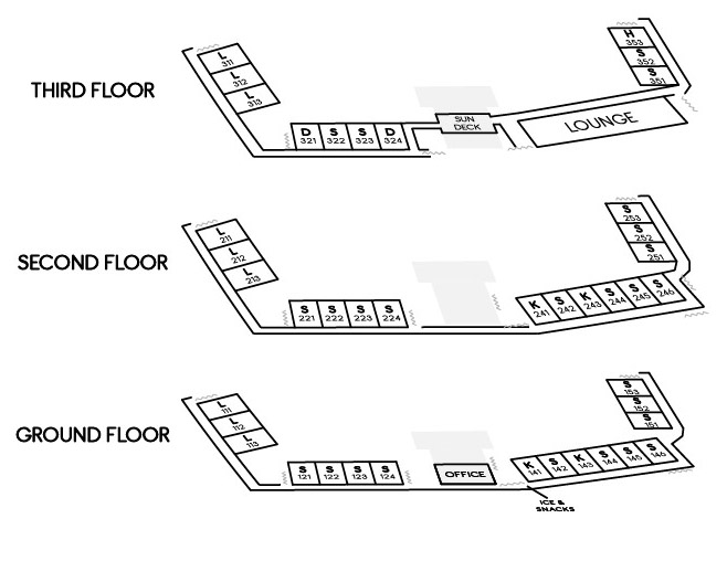 Attlantis Lodge Floor Plans